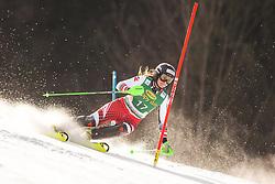Katharina Huber (AUT) during the Ladies' Slalom at 56th Golden Fox event at Audi FIS Ski World Cup 2019/20, on February 16, 2020 in Podkoren, Kranjska Gora, Slovenia. Photo by Matic Ritonja / Sportida