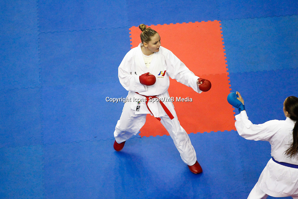 Alizee AGIER - 24.01.2015 - Open de Paris - Karate Premier League -<br />