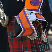 Orangmen march in Edinburgh