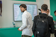Mattia Perin medical examinations at J Medical in Turin - 8 June 2018