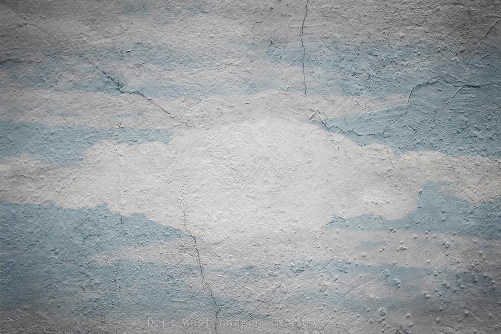 pale blue cloudy sky texture