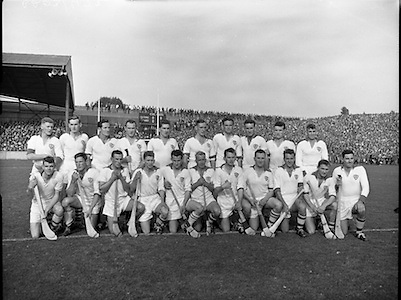 All Ireland Senior Final (Replay), Kilkenny v Waterford.  Waterford Team..04.10.1959
