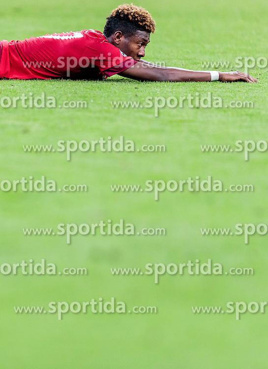 03.05.2016, Allianz Arena, Muenchen, GER, UEFA CL, FC Bayern Muenchen vs Atletico Madrid, Halbfinale, Rueckspiel, im Bild enttäuscht David Alaba (FC Bayern Muenchen) // dejected David Alaba (FC Bayern Muenchen) during the UEFA Champions League semi Final, 2nd Leg match between FC Bayern Munich and Atletico Madrid at the Allianz Arena in Muenchen, Germany on 2016/05/03. EXPA Pictures © 2016, PhotoCredit: EXPA/ JFK