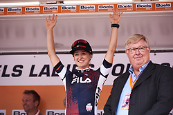 Leah Kirchmann (CAN) at Boels Ladies Tour 2018 - Prologue, a 3.3 km time trial in Arnhem, Netherlands on August 28, 2018. Photo by Sean Robinson/velofocus.com