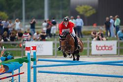 Schmitz Edouard, SUI, Cortino<br /> Juniors European Championships Jumping <br /> Samorin 2017© Hippo Foto - Dirk Caremans<br /> 11/08/2017