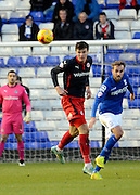 Danny Williams heads clear during the Sky Bet Championship match between Birmingham City and Reading at St Andrews, Birmingham, England on 13 December 2014.