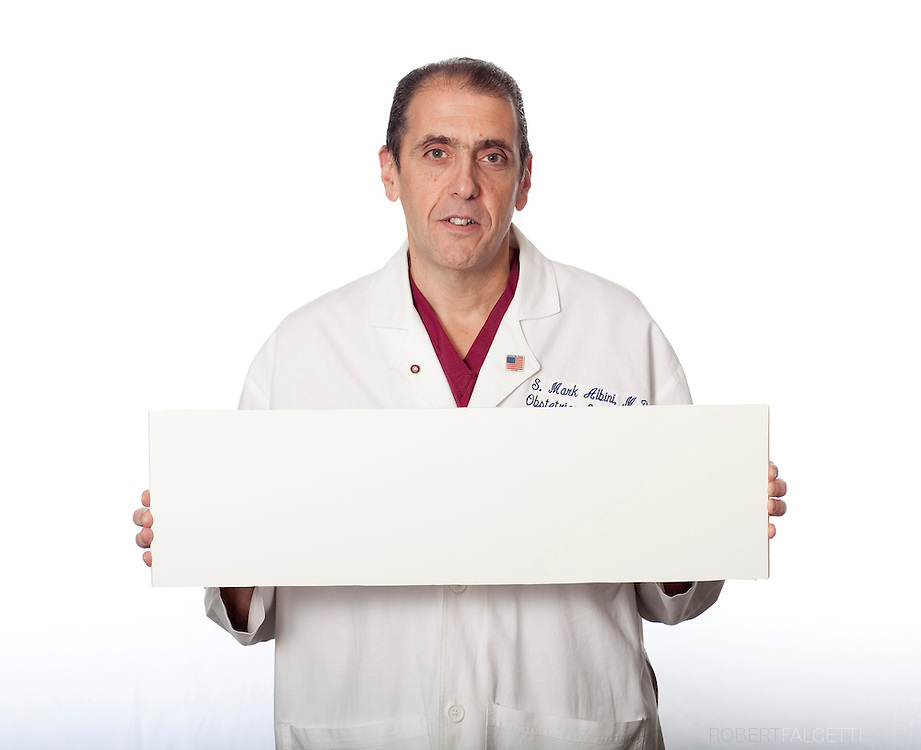2011 Quality Campaign,  Saint Mary's Hospital. Dr. Mark Albini. (Photo by Robert Falcetti)