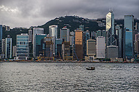 Victoria Harbour & HK Skyline
