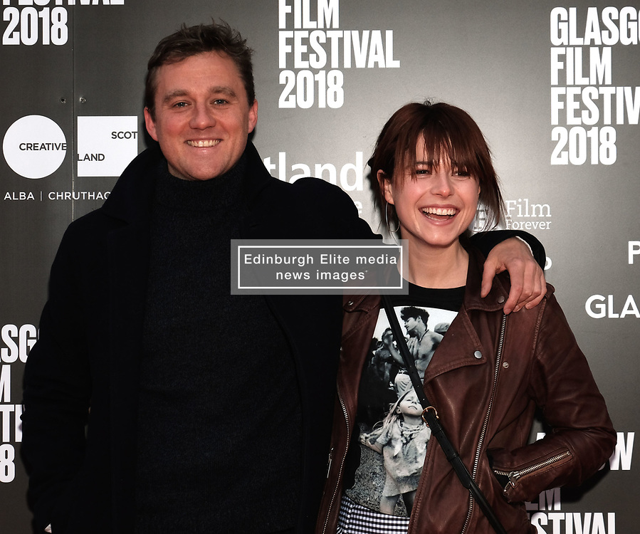 """Glasgow Film Festival 2018<br /> <br /> The Scottish Premiere of """"BEAST"""" was attended by director Michael Pearce and actor Jessie Buckley<br /> <br /> Alex Todd 