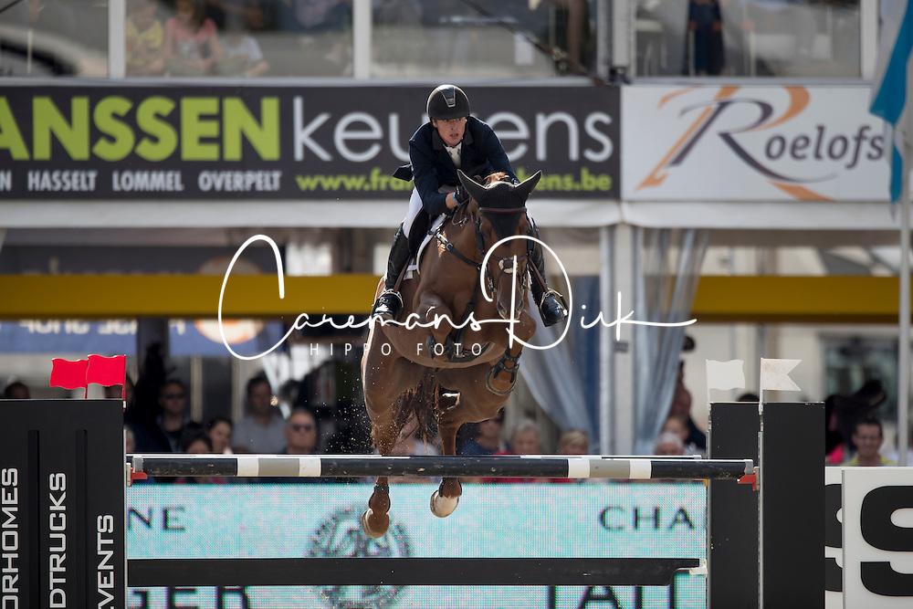 Clemens Pieter, (BEL), Horizon de Regor<br /> Belgisch Kampioenschap Lanaken 2016<br /> &copy; Hippo Foto - Dirk Caremans<br /> 17/09/16
