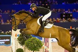 Schroder Ben, NED, Davino Q<br /> Jumping Amsterdam 2018<br /> © Sharon Vandeput<br /> 26/01/18