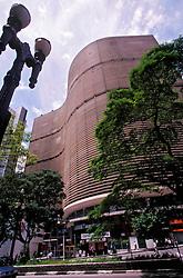 Sao Paulo, SP, Brasil    20/set/2002.O Edificio Copan, projetado pelo arquiteto Oscar Niemeyer./ Copan Building, projected by the architect Oscar Niemeyer..Foto Marcos Issa/Argosfoto