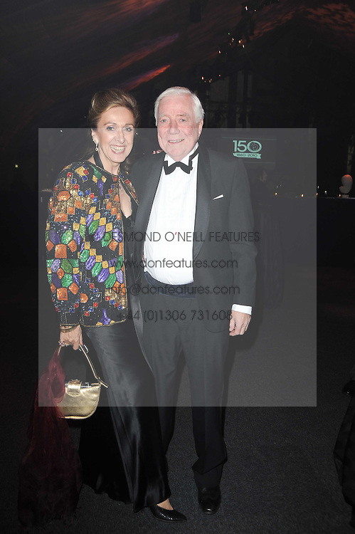 ALBERT & SUSIE BRISCOE at the Collars & Coats Gala Ball celebrating 150 years of Battersea Dogs & Cats Home held at Battersea Power Station, London on 25th November 2010.