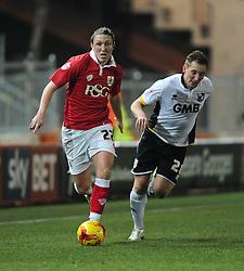 Bristol City's Luke Ayling breaks forward  - Photo mandatory by-line: Joe Meredith/JMP - Mobile: 07966 386802 - 10/02/2015 - SPORT - Football - Bristol - Ashton Gate - Bristol City v Port Vale - Sky Bet League One