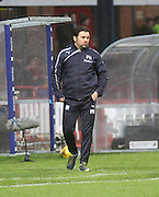 Dundee manager Paul Hartley - Dundee v Dundee United, Ladbrokes Premiership at Dens Park<br /> <br />  - &copy; David Young - www.davidyoungphoto.co.uk - email: davidyoungphoto@gmail.com
