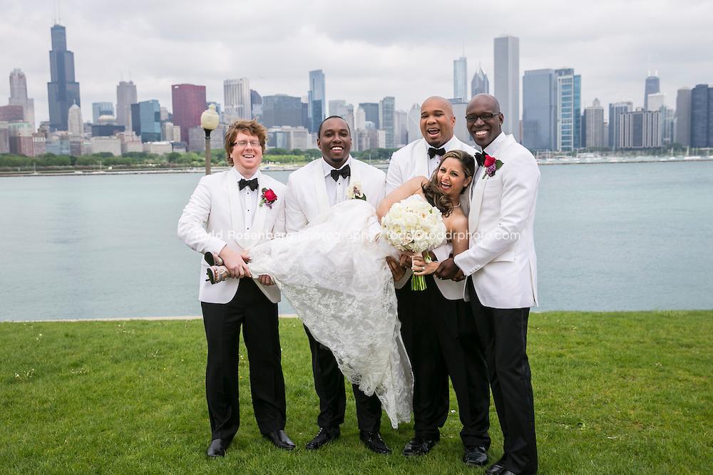 5/21/13 10:54:36 AM .The wedding of April and Sakou on Windy City Live... . © Todd Rosenberg Photography 2013