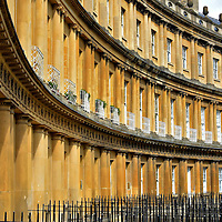 The Circus in Bath, England<br />