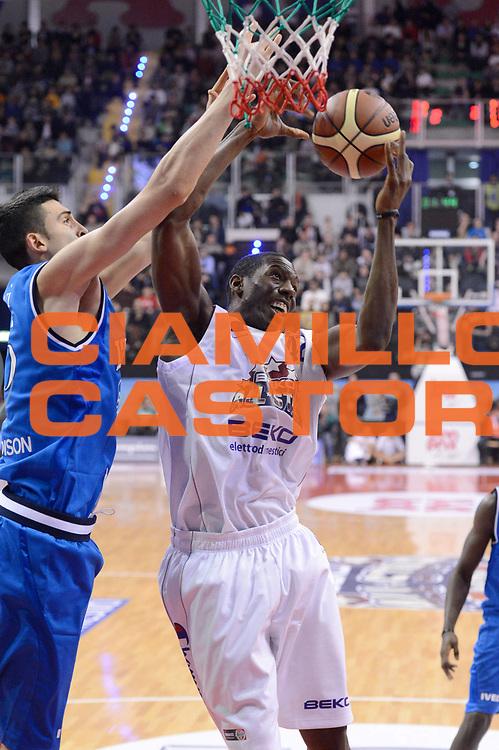 DESCRIZIONE : Biella Beko All Star Game 2012-13<br /> GIOCATORE : Bryant Dunston<br /> CATEGORIA : rimbalzo<br /> SQUADRA : All Star Team<br /> EVENTO : All Star Game 2012-13<br /> GARA : Italia All Star Team<br /> DATA : 16/12/2012 <br /> SPORT : Pallacanestro<br /> AUTORE : Agenzia Ciamillo-Castoria/C.De Massis<br /> Galleria : FIP Nazionali 2012<br /> Fotonotizia : Biella Beko All Star Game 2012-13<br /> Predefinita :