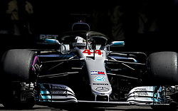 June 22, 2018 - Le Castellet, France - Motorsports: FIA Formula One World Championship 2018, Grand Prix of France, .#44 Lewis Hamilton (GBR, Mercedes AMG Petronas Motorsport) (Credit Image: © Hoch Zwei via ZUMA Wire)