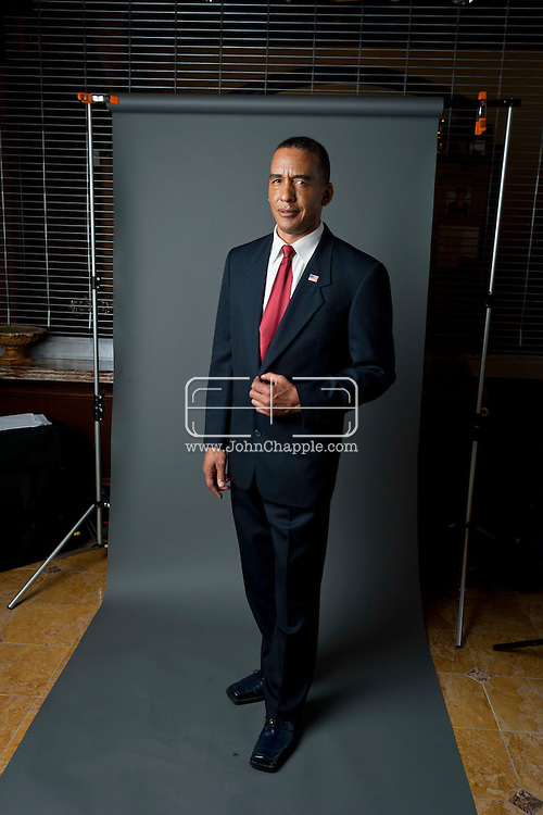 24th February 2011. Las Vegas, Nevada.  Celebrity Impersonators from around the globe were in Las Vegas for the 20th Annual Reel Awards Show. Pictured is Michael Bryant as Barack Obama. Photo © John Chapple / www.johnchapple.com..