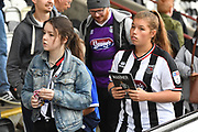 Disappointed Grimsby Town fans at the end of the match loosing 0-3 during the EFL Sky Bet League 2 match between Grimsby Town FC and Oldham Athletic at Blundell Park, Grimsby, United Kingdom on 15 September 2018.