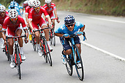 Andrey Amador (CRI, Movistar) during the 73th Edition of the 2018 Tour of Spain, Vuelta Espana 2018, Stage 13 cycling race, Candas Carreno - La Camperona 174,8 km on September 7, 2018 in Spain - Photo Luca Bettini / BettiniPhoto / ProSportsImages / DPPI