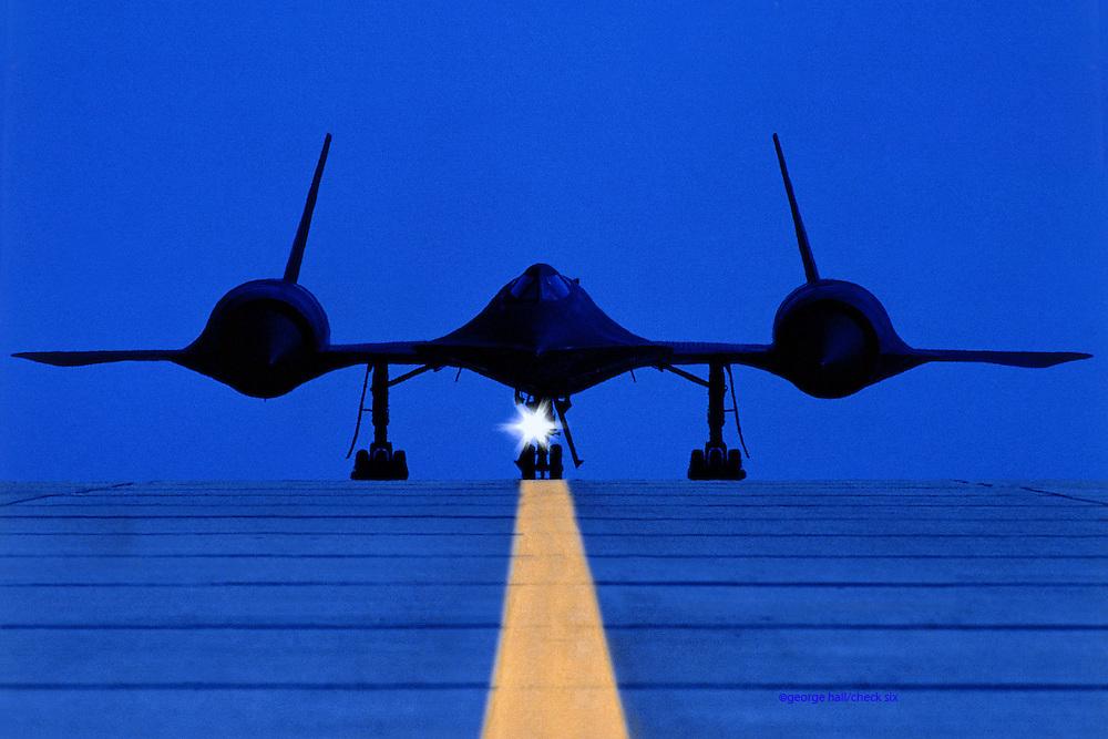 SR71 Stealth Aircraft