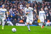 Mateusz Klich of Leeds United (43) in action during the EFL Sky Bet Championship match between Leeds United and Sheffield United at Elland Road, Leeds, England on 16 March 2019.