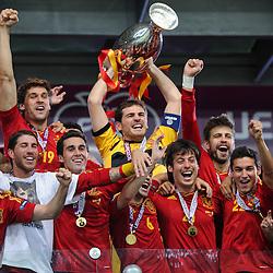 20120701: UKR, Football - UEFA Euro 2012, final match, Spain vs Italy