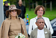 Alphen Aan den Rijn, 17-09-2015<br /> <br /> Queen Maxima wattends 50 year jubilee of the Molukker community of Alphen Aan den Rijn.<br /> <br /> Photo: Royalportraits Europe/Bernard Ruebsamen