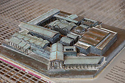 Model of Scythopolis at the Bet Shean National Park, Israel
