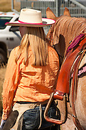 Cowgirl, Wilsall Ranch Rodeo, Montana, Tara Mathews, Model Released, Property Released