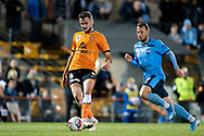 SYDNEY, AUSTRALIA - AUGUST 07: Brisbane Roar player Macauley Gillesphey (6) kicks the ball during the FFA Cup round of 32 football match between Sydney FC and Brisbane Roar FC on August 07, 2019 at Leichhardt Oval in Sydney, Australia. (Photo by Speed Media/Icon Sportswire)