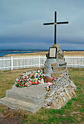 2 Para Memorial cross at Goose Green, Falkland Islands