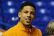 Hull City defender Curtis Davies during the Sky Bet Championship match between Birmingham City and Hull City at St Andrews, Birmingham, England on 3 March 2016. Photo by Alan Franklin.