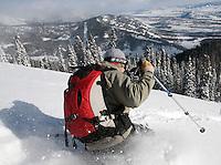 Triple Direct, Teton Pass backcountry, Jackson Hole, Wyo.