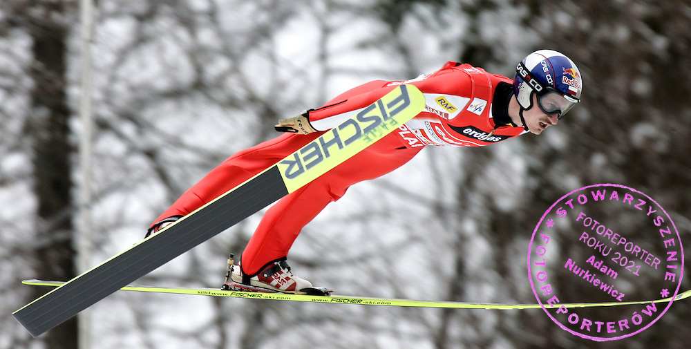 GEPA-2403075952 - PLANICA,SLOWENIEN.24.MAR.07 - SKI NORDISCH, SKISPRINGEN - FIS Weltcup, Skifliegen Planica. Bild zeigt Adam Malysz (POL). Foto: GEPA pictures/ Oskar Hoeher.FOT. GEPA / WROFOTO.*** POLAND ONLY !!! ***.*** NO INTERNET/ MOBILE USAGE !!! ***