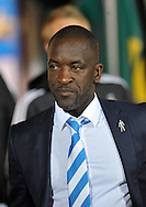 Chris Powell manager of Huddersfield Town during the Sky Bet Championship match at the John Smiths Stadium, Huddersfield against Nottingham Forest<br /> Picture by Graham Crowther/Focus Images Ltd +44 7763 140036<br /> 24/09/2015