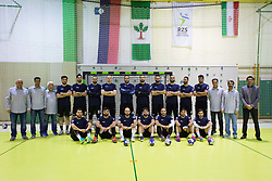Players of Iran during Handball friendly match between Slovenia and Iran, on January 4, 2018 in Dol pri Hrastniku, Dol pri Hrastniku, Slovenia. Photo by Ziga Zupan / Sportida