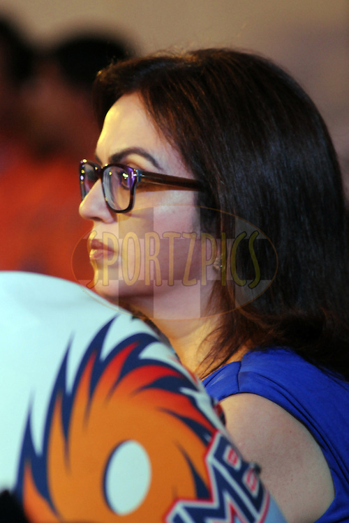 Nita Ambani of MI during day 2 of the 2011 IPL (Indian Premier League ) Player Auction held in Bengaluru, Bangalore, Karnataka, India on the 9th January 2011..Photo by Pal Pillai/BCCI/SPORTZPICS