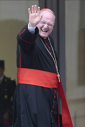 Timothy Michael Dolan during the third day of congregation for cardinals, waiting for the Conclave for the election of the Pope, Vatican, Italy, March 5, 2013. Photo by Imago / i-Images...UK ONLY..Contact..Andrew Parsons: 00447545 311662.Stephen Lock: 00447860204379
