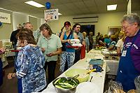 Jewish Food Festival Laconia NH Temple B'Nai Israel.  Karen Bobotas for the Laconia Daily Sun