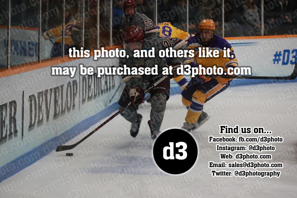 Men's Ice Hockey: University of Wisconsin-Stevens Point Pointers vs. Norwich University Cadets
