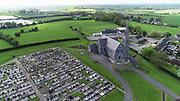 Louth Village Saint Mcochtas church, abbey, credit, union, school, shops, pub, Saint, Machtas, Louth, Village, Church, Abbey, Credit, Union, Aerial Images photo