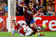 Onderwerp/Subject: FC Barcelona - Ajax - Champions League<br /> Reklame:  <br /> Club/Team/Country: <br /> Seizoen/Season: 2013/2014<br /> FOTO/PHOTO: Alexis SANCHEZ ( Alexis Alejandro Sanchez SANCHEZ ) (R) of FC Barcelona in duel with Kolbeinn SIGTHORSSON (L) of Ajax. (Photo by PICS UNITED)<br /> <br /> Trefwoorden/Keywords: <br /> #04 $94 &plusmn;1377835766895<br /> Photo- &amp; Copyrights &copy; PICS UNITED <br /> P.O. Box 7164 - 5605 BE  EINDHOVEN (THE NETHERLANDS) <br /> Phone +31 (0)40 296 28 00 <br /> Fax +31 (0) 40 248 47 43 <br /> http://www.pics-united.com <br /> e-mail : sales@pics-united.com (If you would like to raise any issues regarding any aspects of products / service of PICS UNITED) or <br /> e-mail : sales@pics-united.com   <br /> <br /> ATTENTIE: <br /> Publicatie ook bij aanbieding door derden is slechts toegestaan na verkregen toestemming van Pics United. <br /> VOLLEDIGE NAAMSVERMELDING IS VERPLICHT! (&copy; PICS UNITED/Naam Fotograaf, zie veld 4 van de bestandsinfo 'credits') <br /> ATTENTION:  <br /> &copy; Pics United. Reproduction/publication of this photo by any parties is only permitted after authorisation is sought and obtained from  PICS UNITED- THE NETHERLANDS