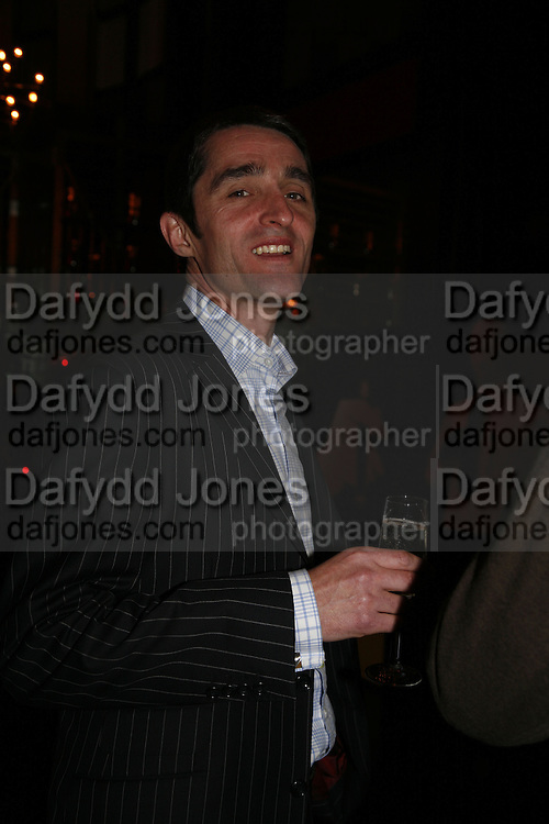 John Lush, Drinks party to launch a new Thomas Pink shirt called The Mogul which has a pocket which houses one's cigar. Hostyed by the Spectator and Thomas Pink. Floridita. Wardour St. London. 1 November 2006. -DO NOT ARCHIVE-© Copyright Photograph by Dafydd Jones 66 Stockwell Park Rd. London SW9 0DA Tel 020 7733 0108 www.dafjones.com