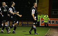 Photo: Paul Thomas.<br /> Rotherham United v Swansea City. Coca Cola League 2. 27/02/2007.<br /> <br /> Goal scorer Lee Trundle of Swansea celebrates.