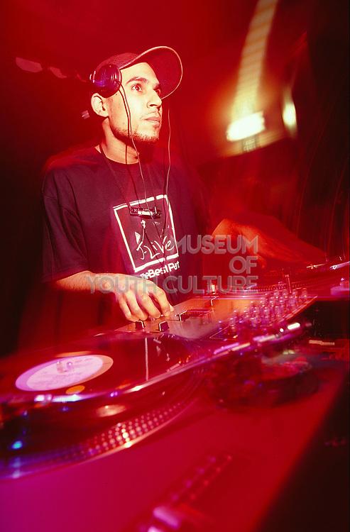 DJ at Dekefex.