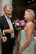 WILLIAM SHAWCROSS; HILARY WESTON, The Cartier Chelsea Flower show dinner. Hurlingham club, London. 20 May 2013.