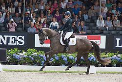Osterholm Yvonne, SWE, Fiera Girl<br /> World Championship Young Dressage Horses <br /> Ermelo 2016<br /> © Hippo Foto - Leanjo De Koster<br /> 29/07/16